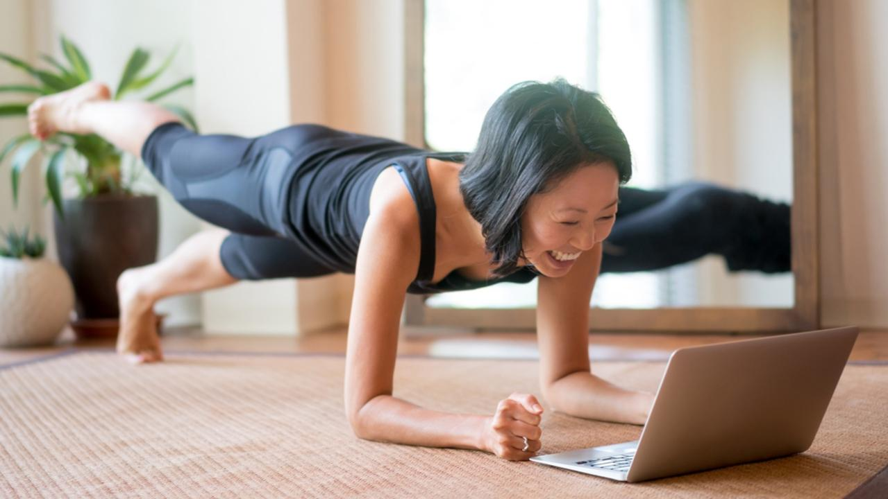 Get your sweat on without leaving the house. Picture: iStock.