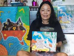 Author releases children's books in her Birri language