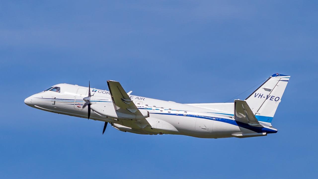 RESUMED: The Australian Government has underwritten Fly Corporate's regional flights.