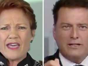 Pauline fires up: 'Come on, Karl'