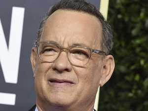 Hanks donates blood for virus vaccine