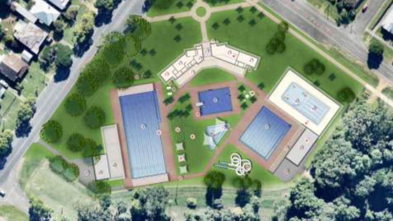 Grafton Olympic Pool Master Plan.