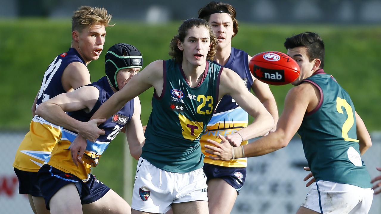 Tasmania has a NAB League team, but is still lacking an AFL side. Photo: Matt Thompson
