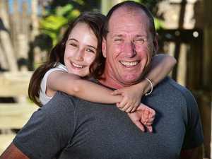 Schoolgirl all smiles after leukaemia battle