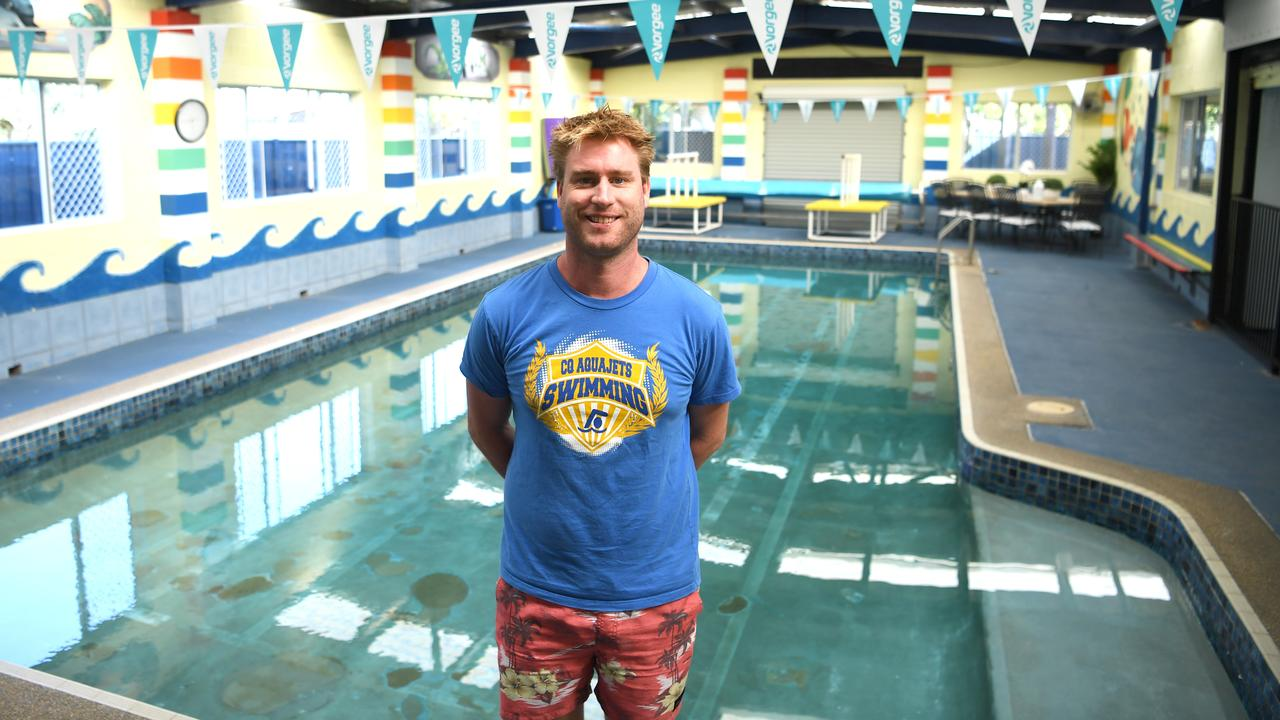 DEEP REFLECTION: AquaJets Swim School teacher Brian Rodriquez says temporarily closing his business has given him the opportunity to take an in-depth look at their programs. Picture: Allan Reinikka