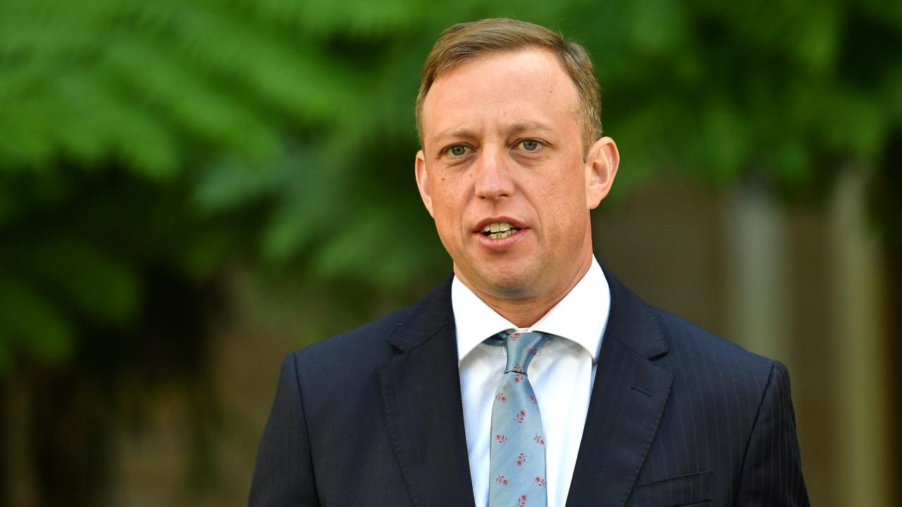Health Minister Steven Miles said that while the risk of infection was low because there were so few cases, incidents could be very distressing for staff. Photo: Darren England