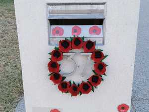 Unique idea shines through the country on Anzac Day