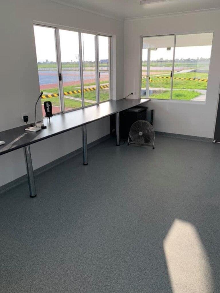 Inside the new facilities at Mackay Netball Association.