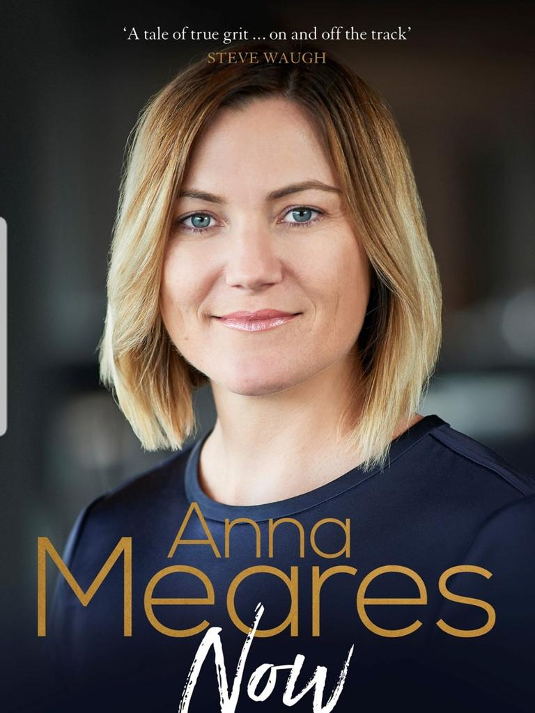 Australian cycling's former golden girl Anna Meares is set to release her new book tomorrow.