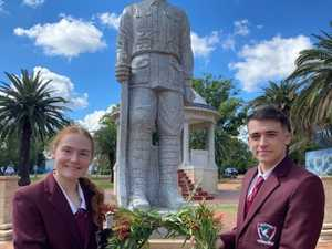St Mary's school captains share respect for Anzacs