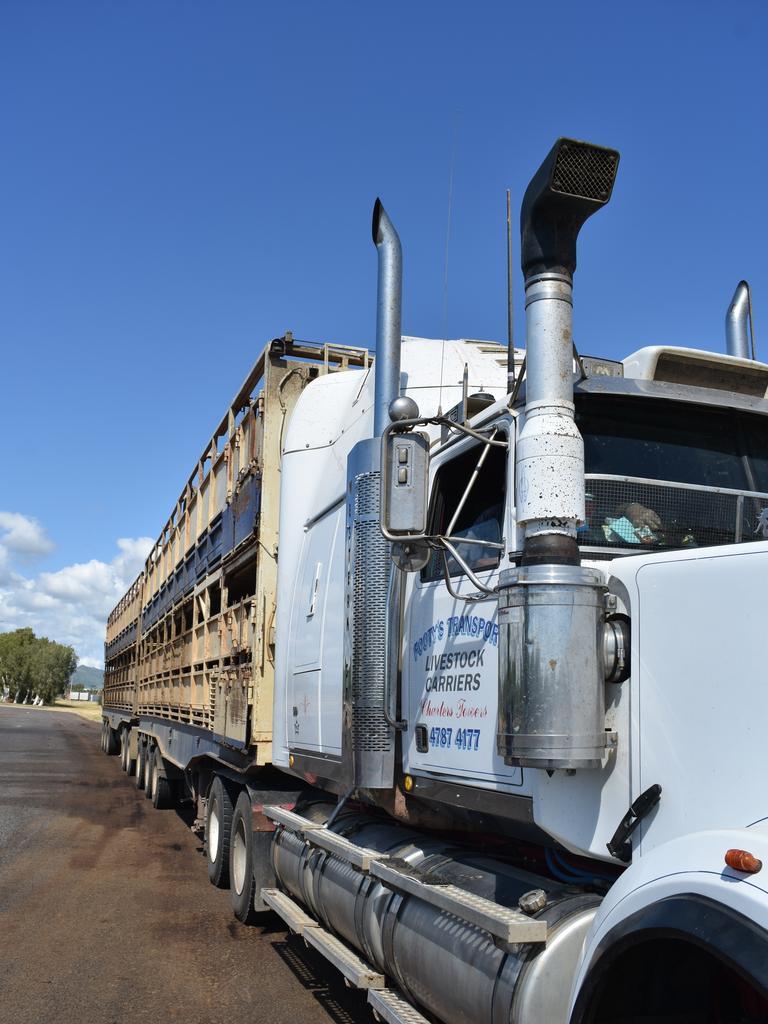 Tony Foster's truck.