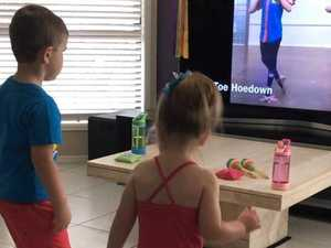 Online classes keep tiny dancers on their toes