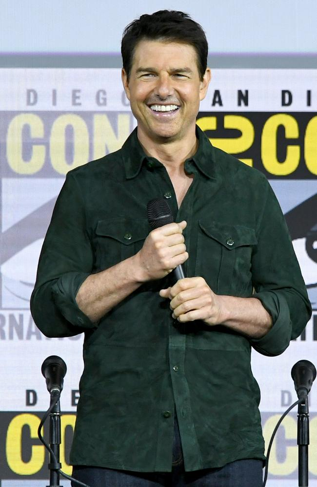 Tom Cruise at the 2019 Comic-Con International in San Diego. Picture: Kevin Winter/Getty Images