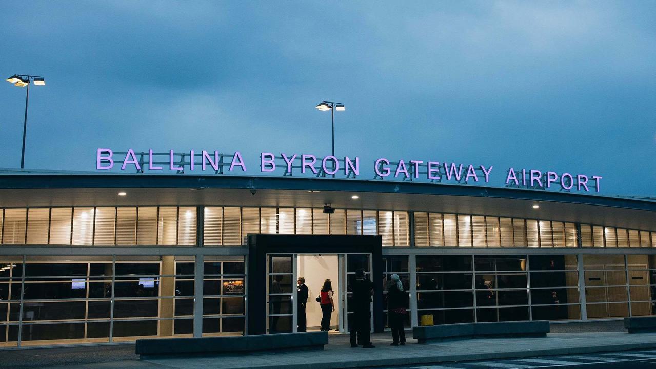 The Ballina Byron Gateway Airport.