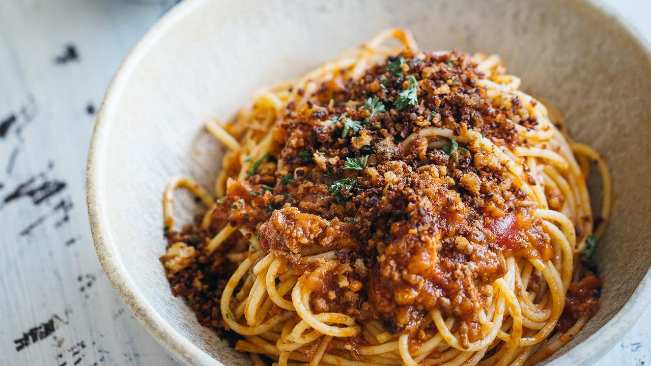 Adam Liaw's Vegemite spaghetti.
