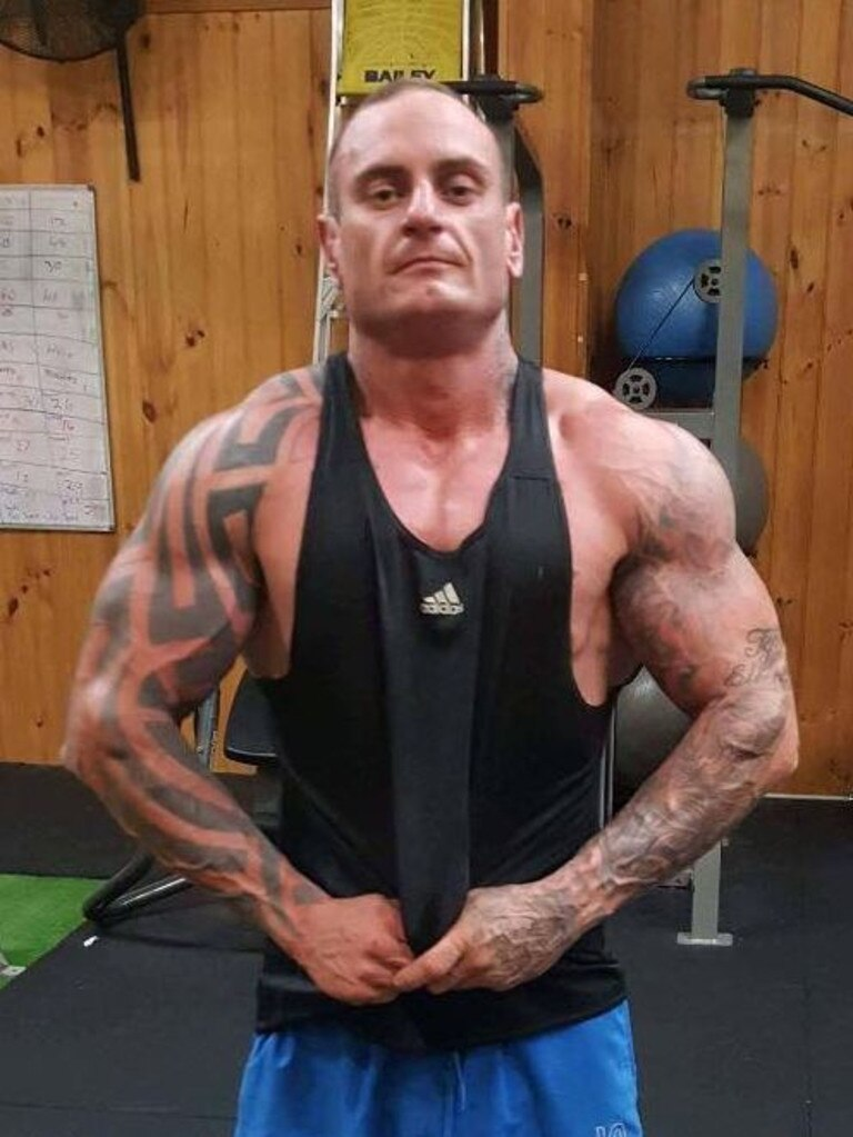 "Alex Krezic's half-brother Les ""Bomsy"" Brooks, who was shot to death at Tingalpa in November 2016. Picture: File"