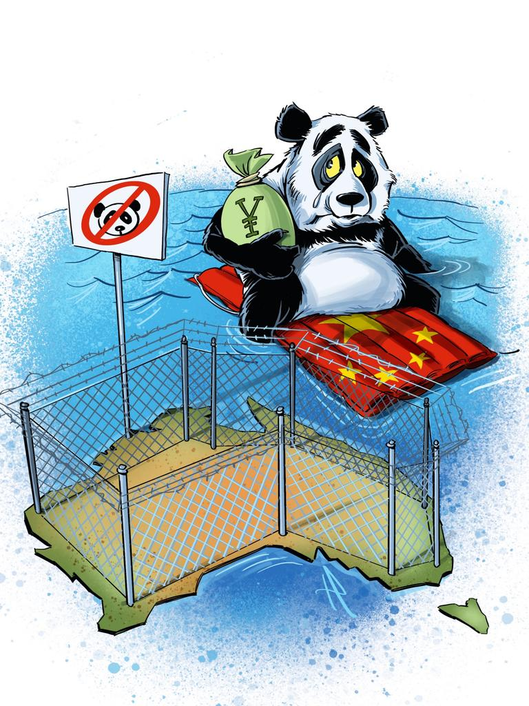 Australia should 'China-proof' the economy. Picture: Terry Pontikos