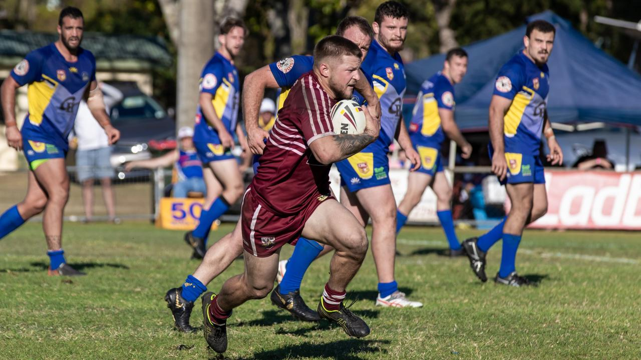 Casino hooker Hayden Pratt playing in the NRRRL finals last year. The competition is aiming to start in July. Photo Ursula Bentley@CapturedAus