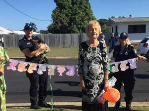 Milestone birthday celebrated social distancing style