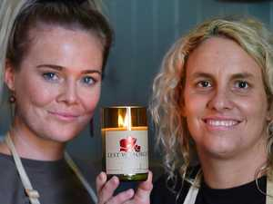 Young Diggers' remembered through Anzac Day candle