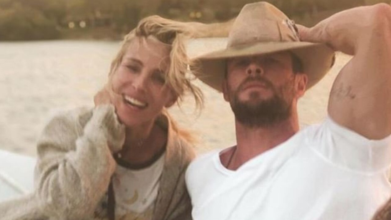 Hemsworth said his wife of 10 years may yet become a Hemsworth.
