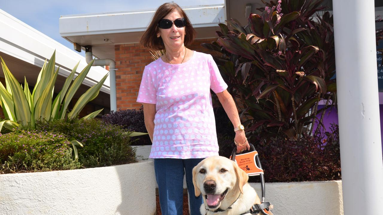 LEADING THE WAY: Helen Willett said receiving Hank five years ago was life-changing.