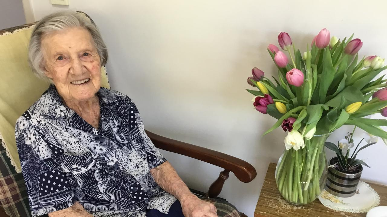 SPECIAL DAY: Doris Veronica Amor affectionately known as 'Dorrie,' turned an impressive 104 in the heart of the COVID-19 pandemic restricting her celebrations. Pic: Contributed
