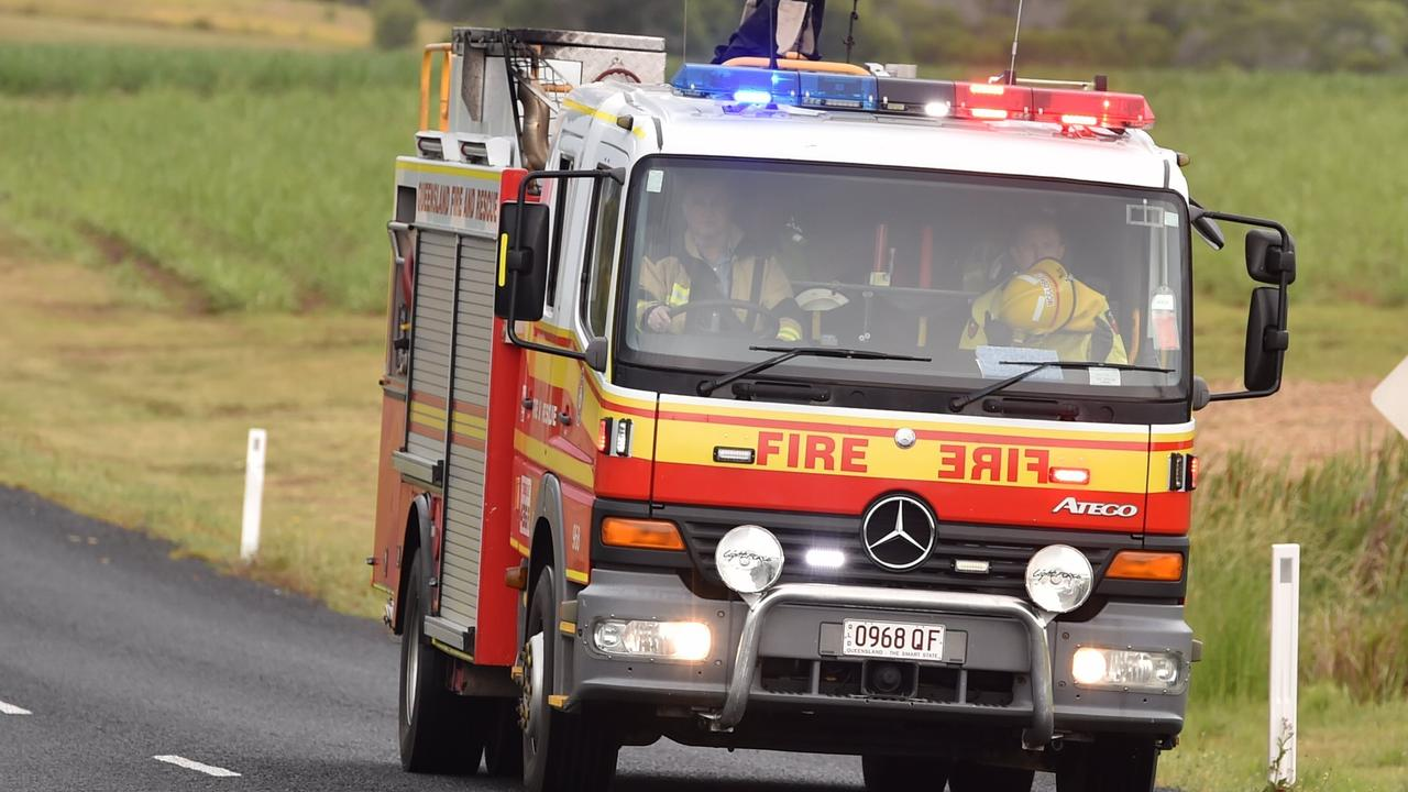 BURNED POT: A pan of oil got so hot it self-ignited in the kitchen of a Laidley home. Photo: Alistair Brightman