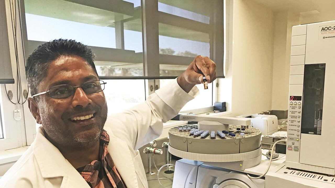 CQUniversity lead researcher Dr Mani Naiker has headed a study into COVID-19 treatments
