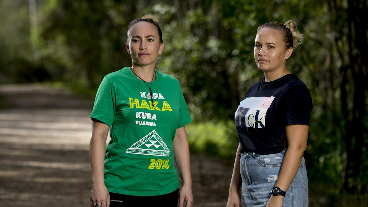 Sisters Marama Gray and Awhi Gray have set up GC Kiwis United to help battling Kiwis out of work because of the coronavirus. Picture: Jerad Williams