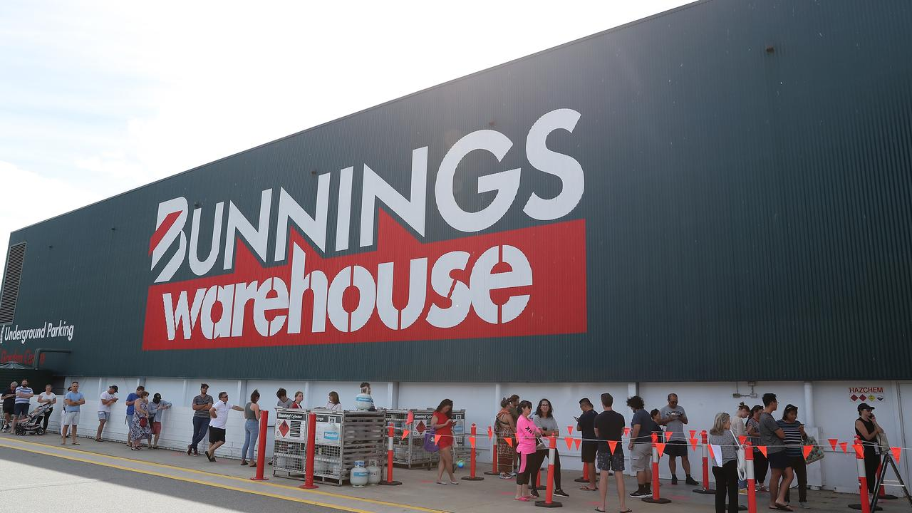 The car parks at Bunnings' stores are set to become mobile coronavirus testing stations as state governments look to massively increase testing numbers.