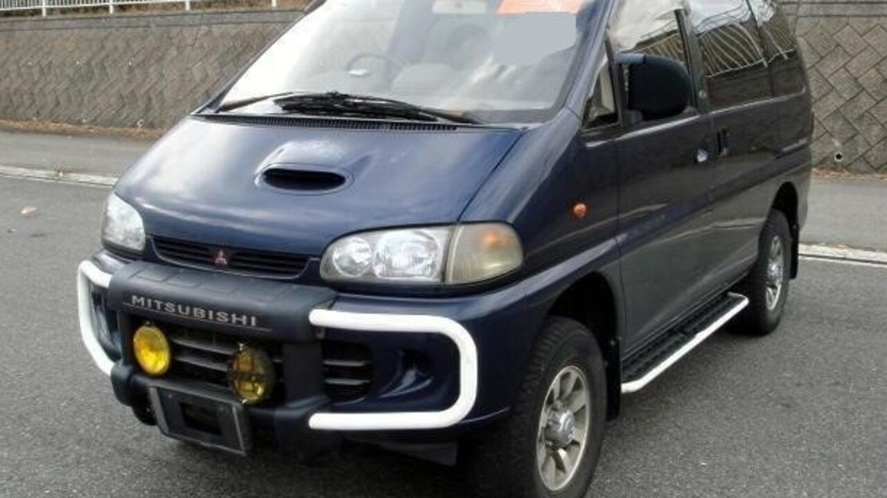 NSW Police released this image of a late 1990s model Mitsubishi Deluca L400 in their search for Tim Watkins' killer.
