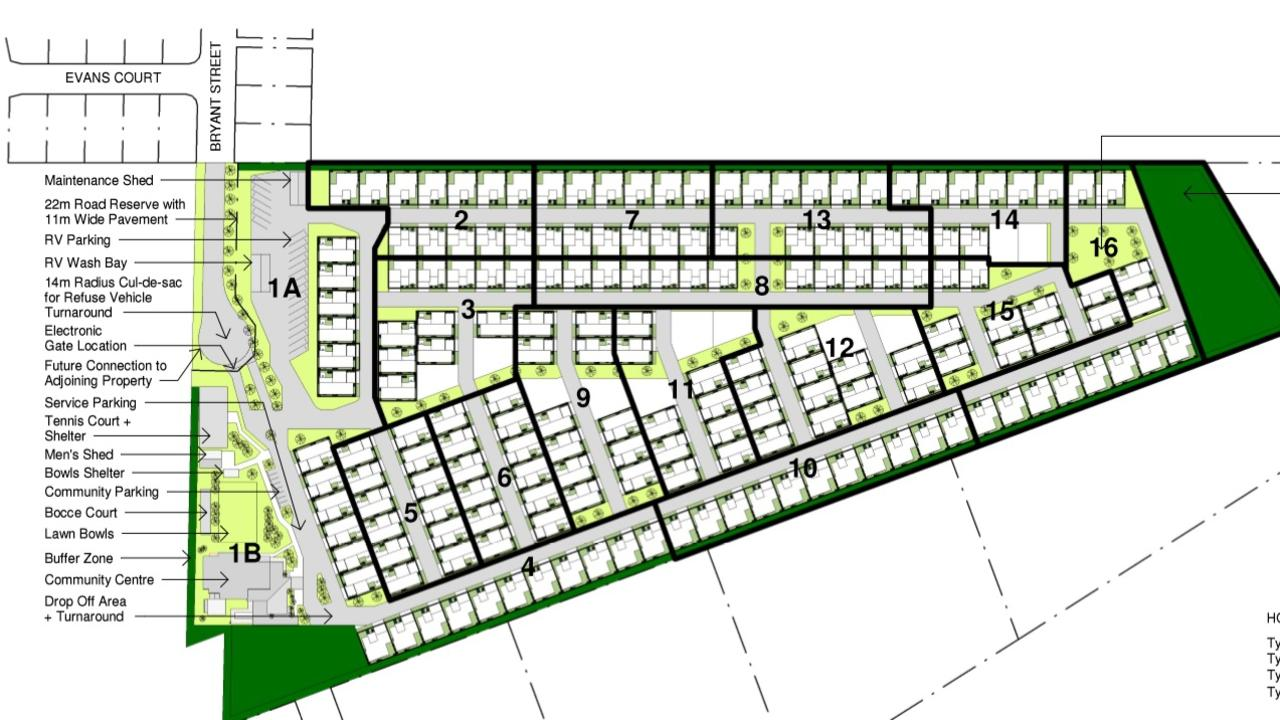 Site plan for Lot 101, Bryant Street, Agnes Water