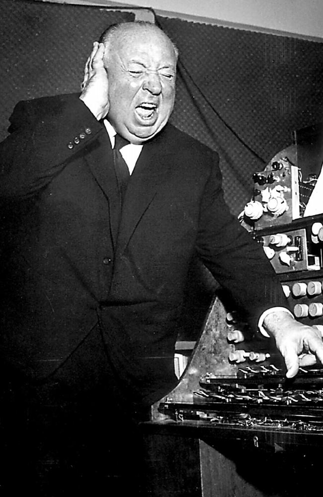 Film director Alfred Hitchcock. Picture: Keystone Press Agency