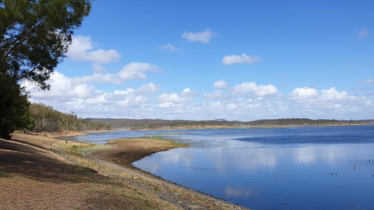 Paradise Dam on October 2.