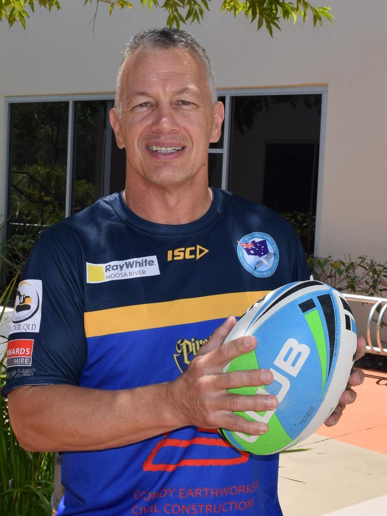 Noosa Pirates coach Brett Winkler believes this season of local league will be among the best in history if it gets the green light. Photo: Peter Gardiner