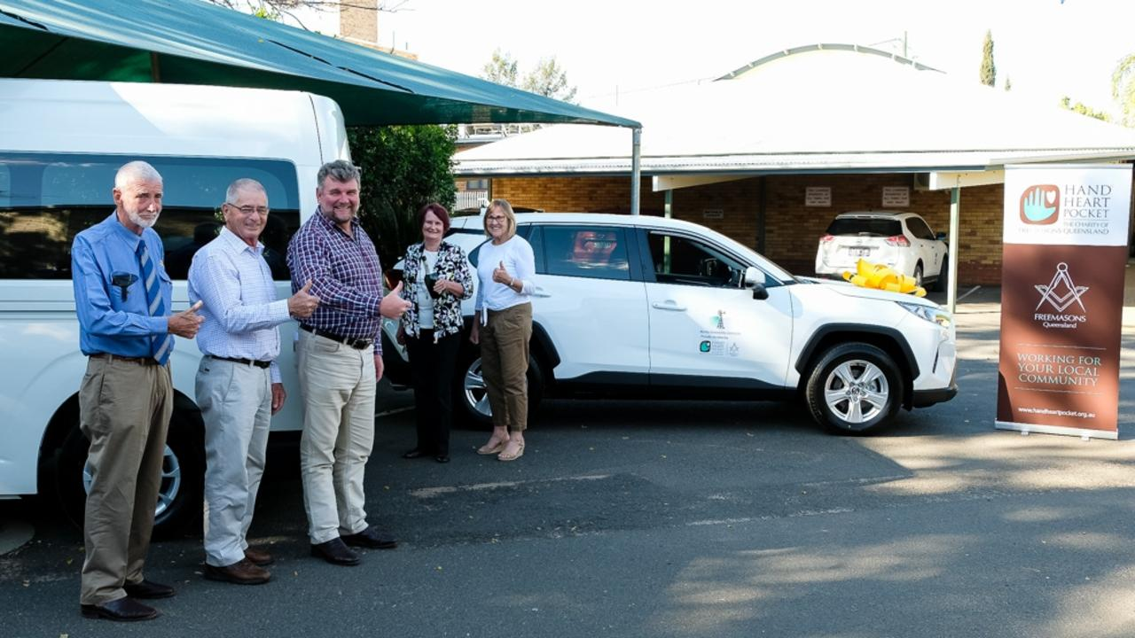 SUPPORT: he Freemason charity has granted $36,500 to the Murilla Community Centre in Miles to help with COVID-19 relief. Pic: Supplied