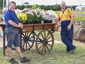 Chrysanthemums for a worthy cause