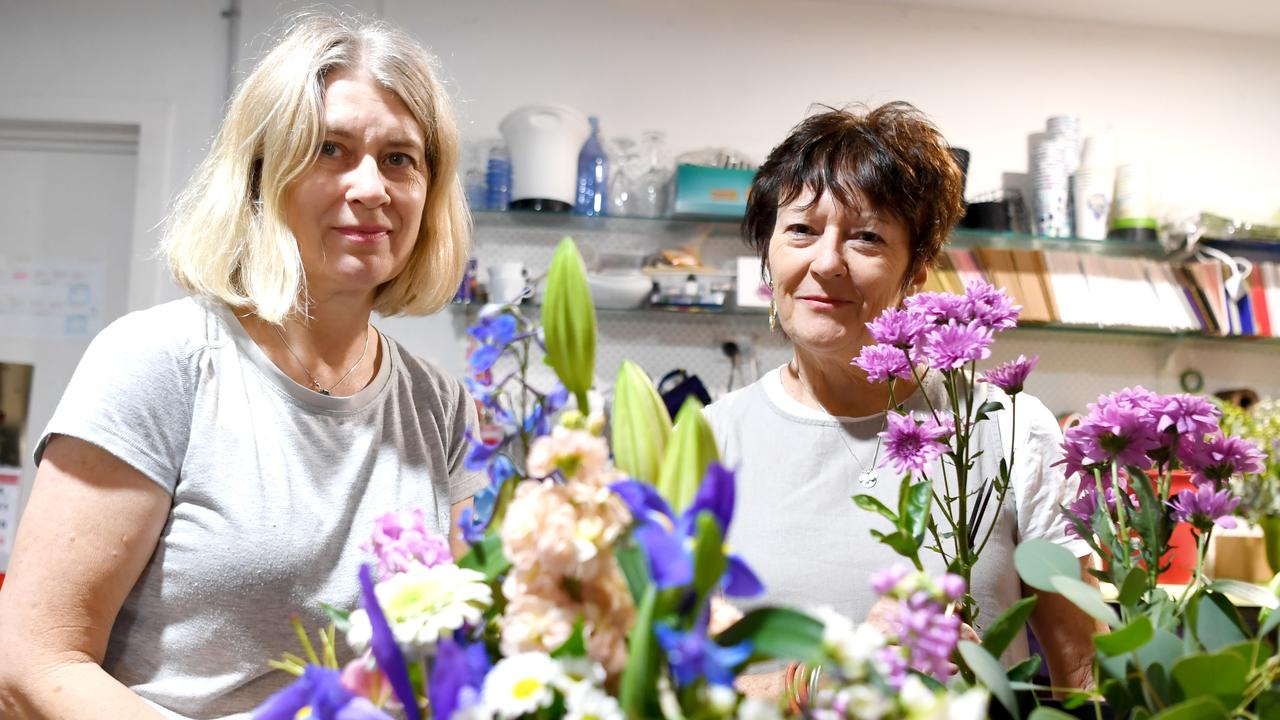 Every Blooming Thing's Jill Harding and owner Julie Willans.