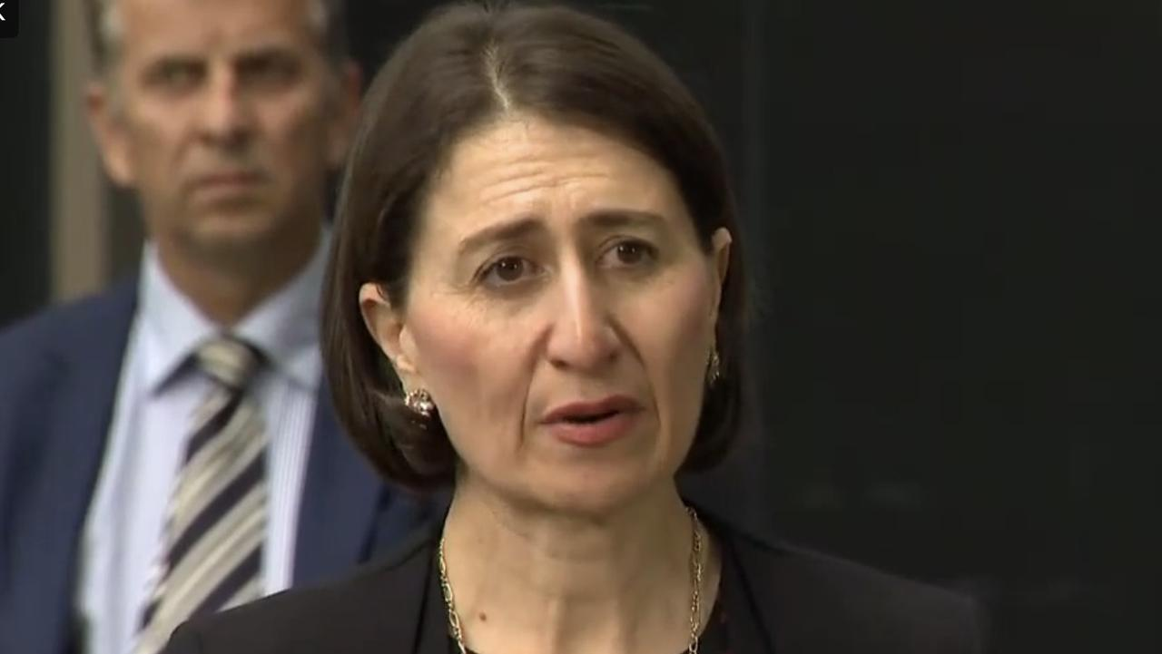 Gladys Berejiklian issued a warning to people about the lifting of restrictions.