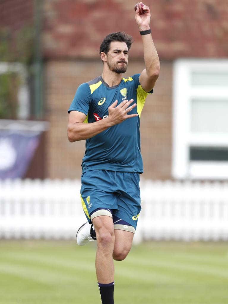 Mitchell Starc. Picture: Luke Walker/Getty