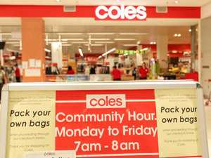 Coles' panic-buying huge sales boost