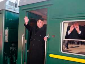 Kim Jong-un: See inside the dictator's 'pleasure train'