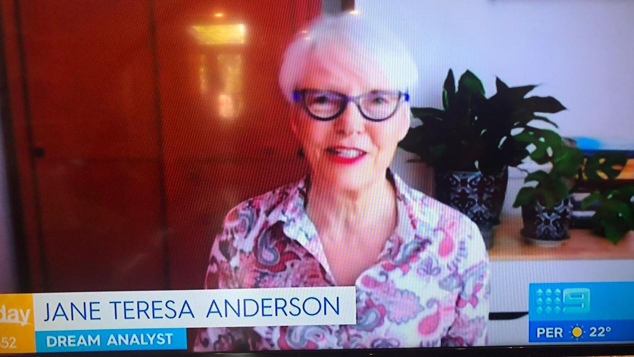Dream analyst Jane Teresa Anderson on Today show.