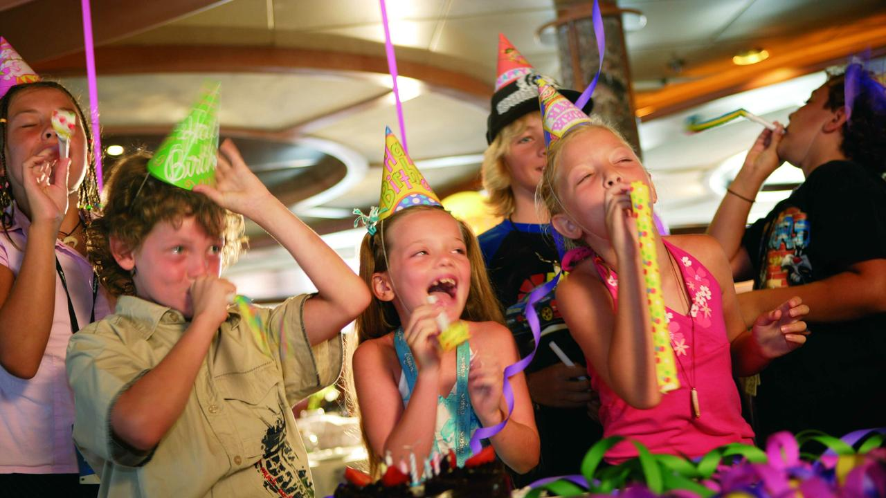 Children's birthday parties are not yet allowed in NSW.