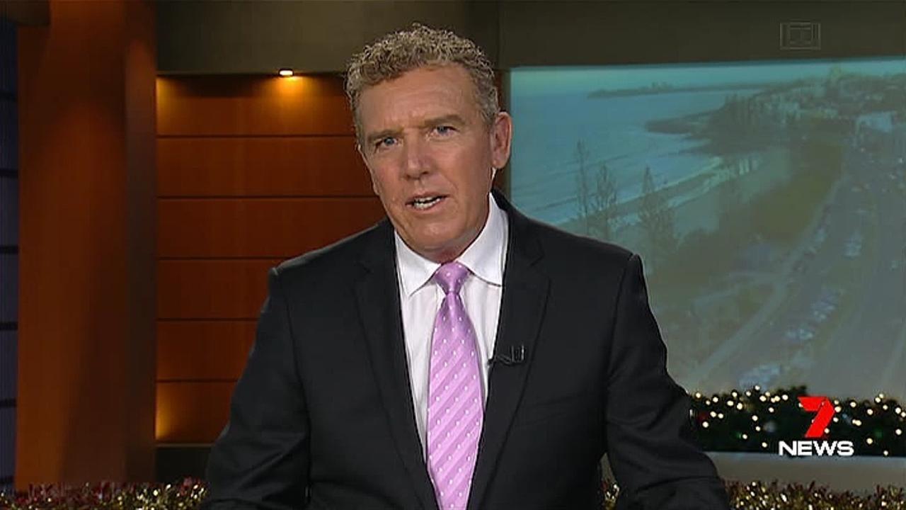Seven newsreader Rob Brough.