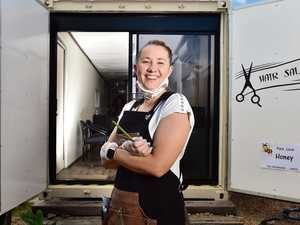 Hairdresser's incredible shipping container transformation