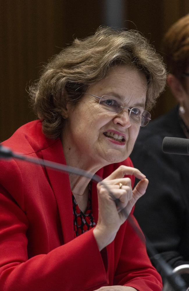 DFAT Secretary Frances Adamson. Picture Gary Ramage