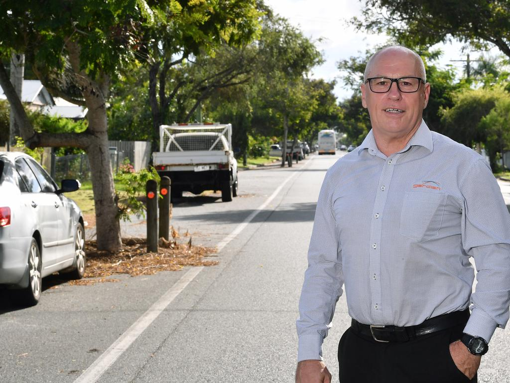 Gardian Real Estate sales consultant and landlord David Fisher. Picture: Tony Martin