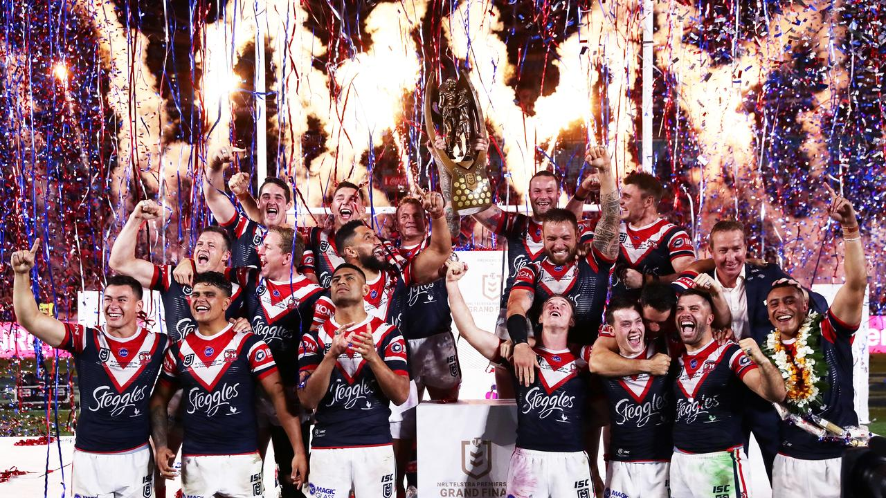 Sydney is in danger of losing the NRL grand final for the first time. Picture: Matt King/Getty